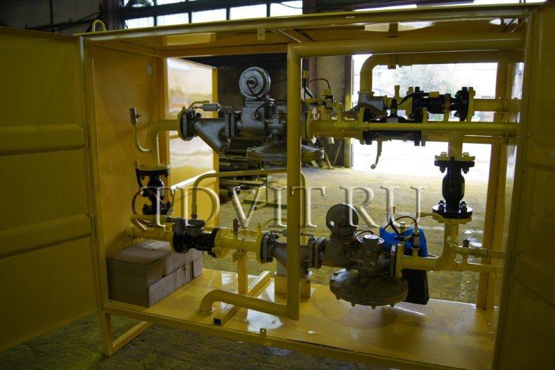Газорегуляторный пункт блочный ГРПБ-MBN/65-APA-SR-2-O-У-TZ-250-A